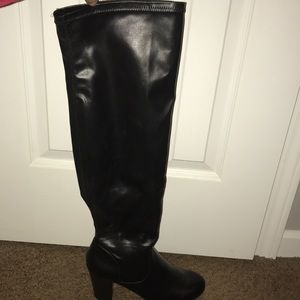 Kenneth Cole Free Love Tall Over the Knee Boot
